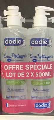 Image DODIE EAU NET BIO 500ML DUO